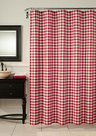 red and blue shower curtain. m style Classic Check Barn Red Shower Curtain Best 25  shower curtains ideas on Pinterest and black