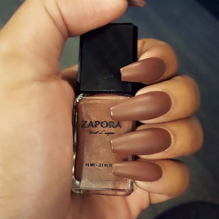 HOT COFFEE – ZAPORA Nail Lacquer