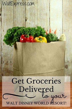 Get Groceries Delivered to an Orlando Resort #DisneyWorld #DisneyDining #UniversalStudios