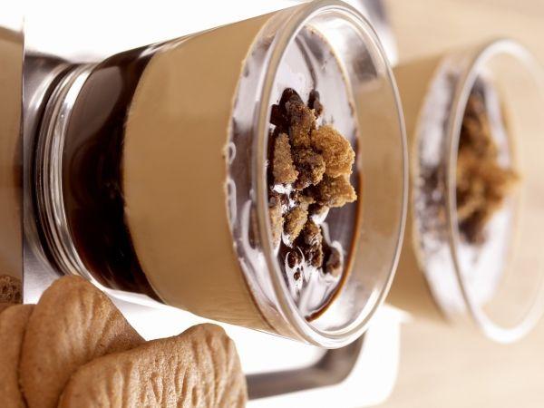 http://www.gelukken.be/ likes this ••• Espresso panna cotta - Libelle Lekker!