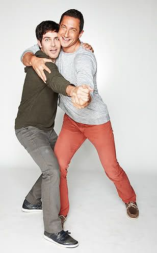 David Giuntoli and Sasha Roiz <3 them