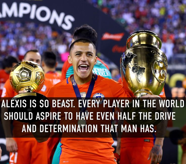 Haven't heard the word beast in a while, but you're not wrong friend.  Alexis Sanchez.