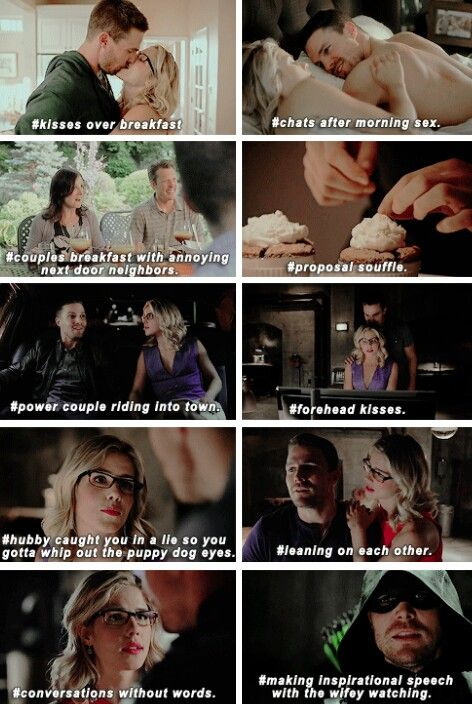 """Just how married can Olicity be? Adorable Olicity in 4x01 """"Green Arrow"""""""