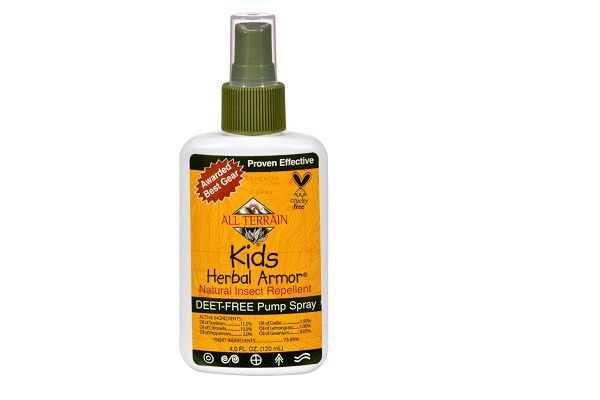 All Terrain Herbal Armor Spray For Kids - 4 Oz - Water and Sweat Resistant