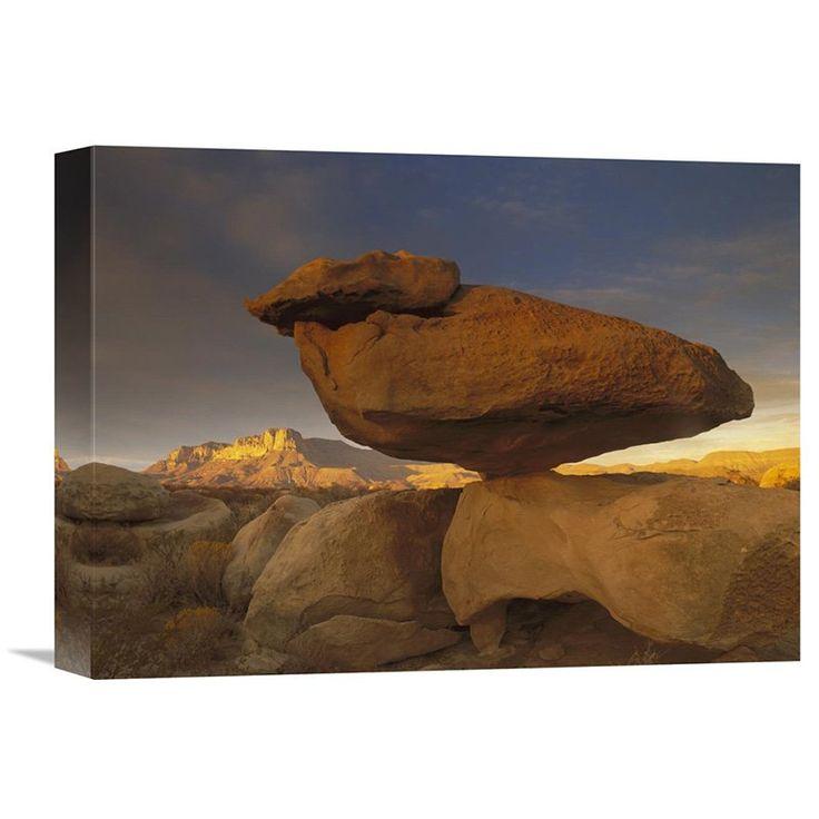 Beau Global Gallery El Capitan And Balanced Rock Guadalupe Mountains National  Park Texas Wall Art   GCS
