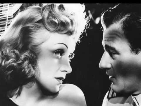 """Marlene Dietrich """"Falling In Love Again"""" 1954 (+playlist)"""