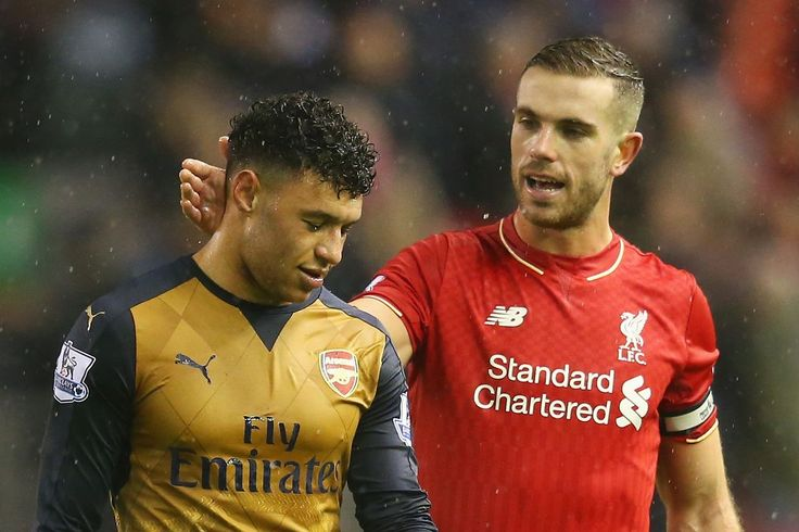 Liverpool Manchester United and Manchester City Battle for Alex Oxlade-Chamberlain