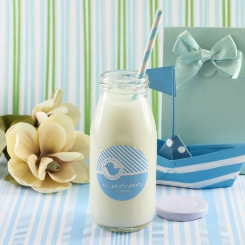 65 best christian baby gifts images on pinterest baby baptism personalized baptism milk jars and straws negle Gallery