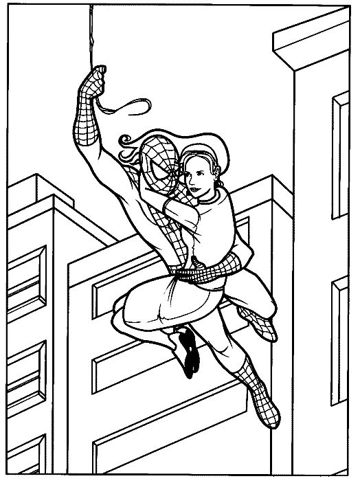 48 best Spider Man Coloring Pages images on Pinterest Spiderman