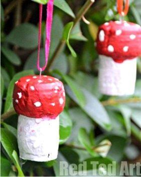 Поделки грибочки - Сайт для мам малышей