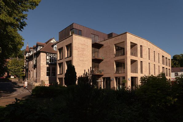 Parkside, Matlock, Evans Vettori Architects Limited