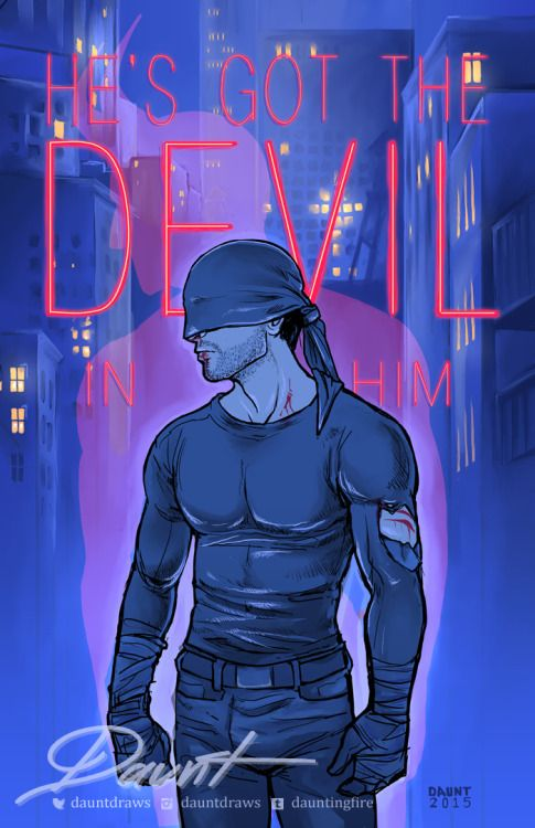 #Daredevil by http://daunt.tumblr.com/post/119064330181/im-so-in-love-with-this-show-ahhh-daredevil