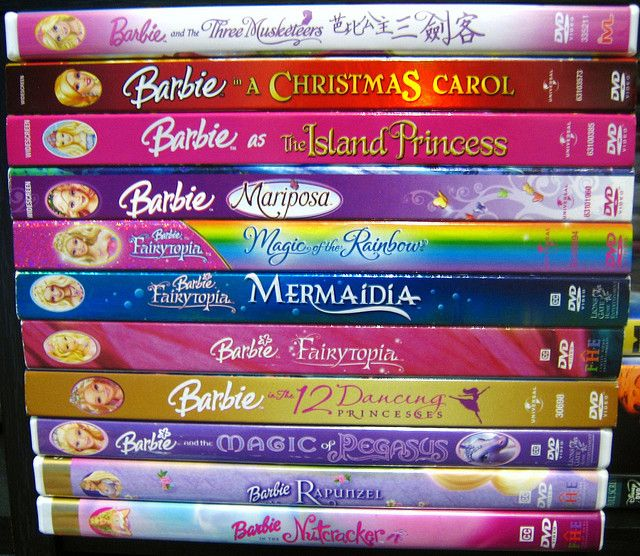 Barbie movies... I still remember them... Sorta want to watch them