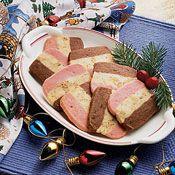 Neapolitan Cookies, Recipe from Cooking.com