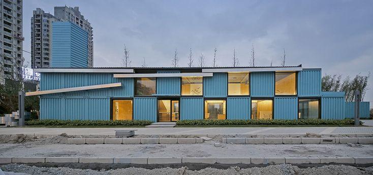 Container Sale #Office | #Proyecto: Atelier XÜK Foto: Sushengliang #oficinas #arquitectura