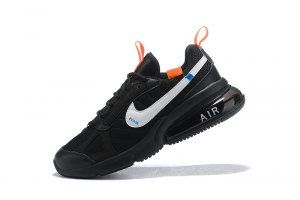 84e4ed5af2 Mens Womens Nike Air Max 270 Casual Sneakers Futura Off White Total Orange  Black & White AO1569 001