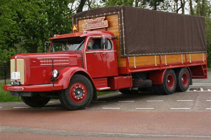 Scania Vabis BE-73-15 V Summeren Tour Trucks Nieuwe Niedorp 2012 18 Mei