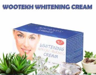 Whitening Cream Woo Tekh krim pemutih wajah siang malam