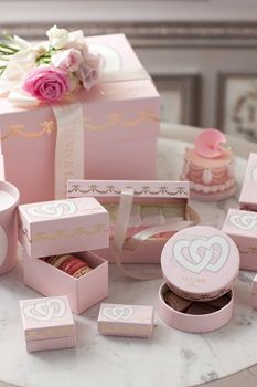Ladurée - how lovely - something to take away from the experience! Delightful!