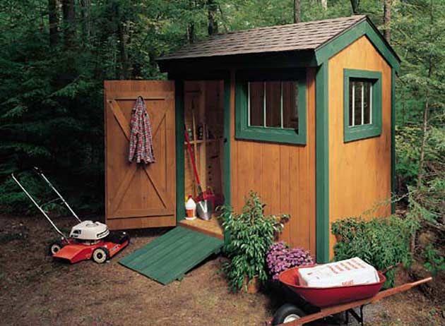 5 Secrets to Building a Better Shed: DIY Guy - Popular Mechanics: Garden Sheds, Garden Ideas, Outdoor, Gardens, Shed Plans, Diy Shed, Popular Mechanic