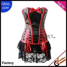 2013 new black latex bustier corset western dress  Best Seller follow this link http://shopingayo.space