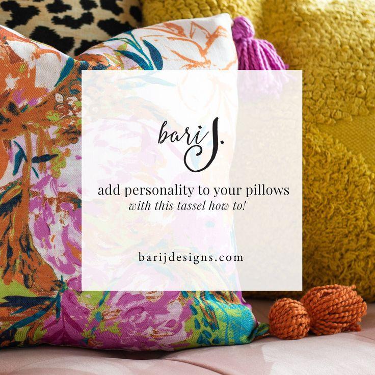 How to Customize a StoreBought Throw Pillow Throw