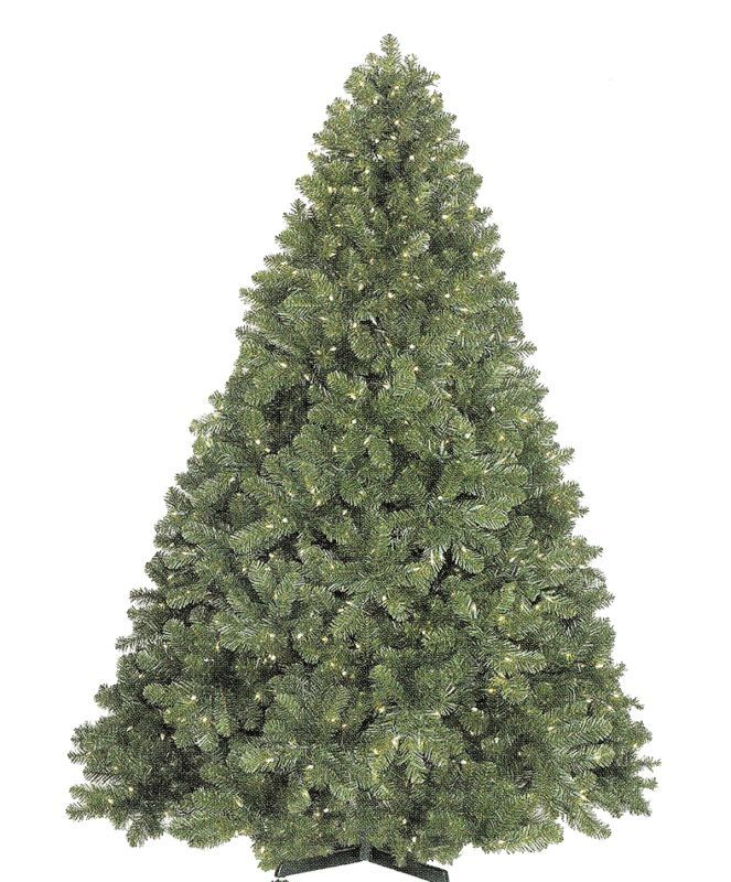 Christmas at Winterland WL-TRSQ-09 9 Foot Classic Sequoia Christmas Tree with Me Green Holiday Decor Trees Pre-Lit