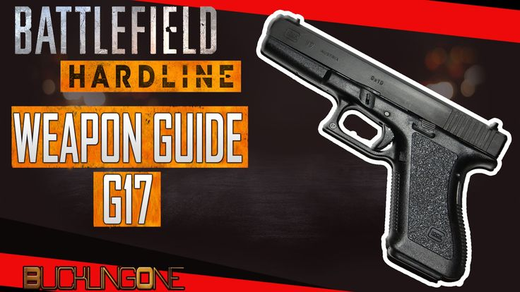 A look at the G17 in Battlefield Hardline. The sixth episode in my series of Weapon Guides for Battlefield Hardline.