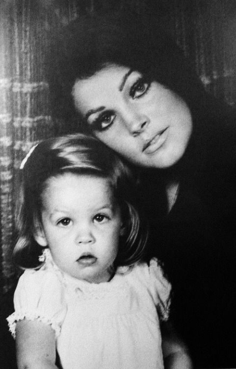 Gorgeous young Priscilla Presley (B&W edition)