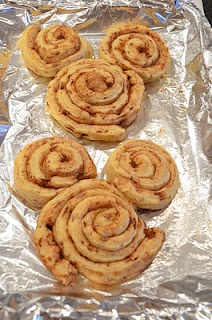 Mickey Mouse Cinnamon Rolls!