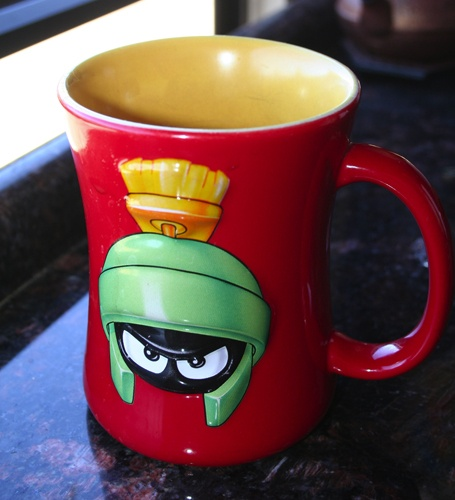 Marvin the Martian Mug - mornings aren't the same without it.