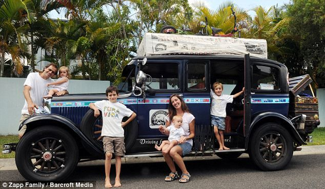 Are we there yet? Couple travel the world for 11 years having four children along the way...and they're still going