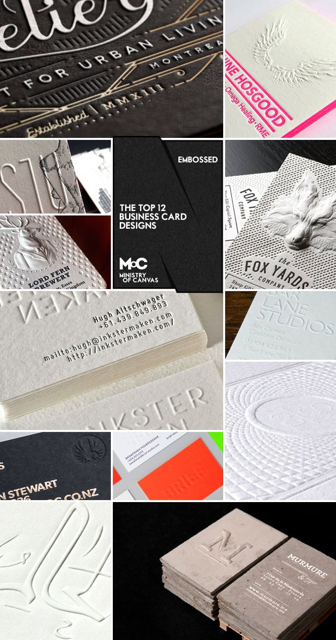 55 best Business Card Designs images on Pinterest | Business card ...