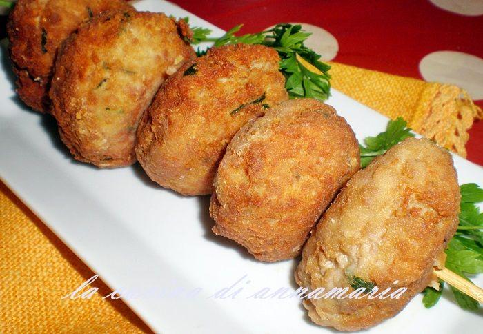 Polpette con patate, ricetta