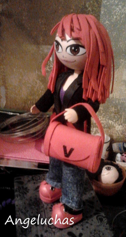 Fofuchas angeluchas: Muñecas fofuchas artesanales y personalizadas:  Matilda.