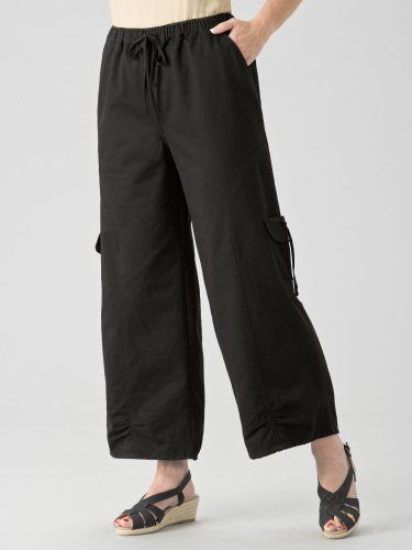 Ulla Popken Cargo Flood Pants: Down Popken, Pants 49 00, 54 00, Robot Check, Flood Pants, Timeless Women S, Cargo Flood