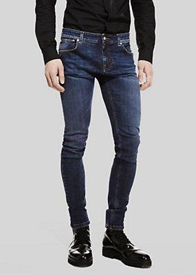 Versace - Jeans taglio slim effetto slavato