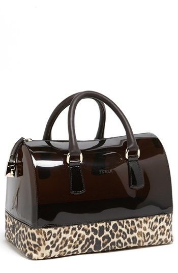 Furla 'Candy - Medium' Rubber Satchel available at #Nordstrom