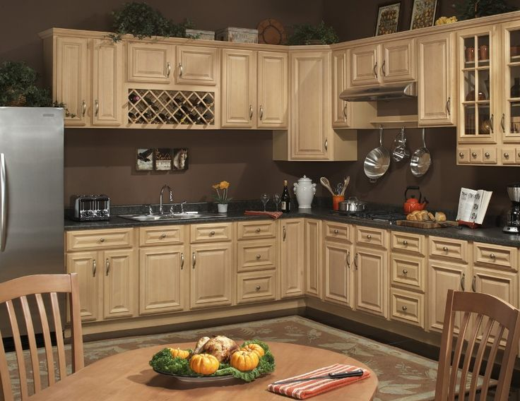 8 Best Images About Kitchen At Farmhouse On Pinterest Traditional Maple Kitchen Cabinets And
