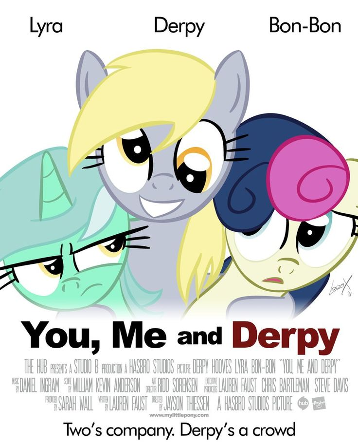 "From the people that brought you ""Bridlemaids""... A parody of the movie poster for ""You, Me and Dupree"". Never actually seen the film myself but I imagine it would be 20% cooler with ponies. The in..."