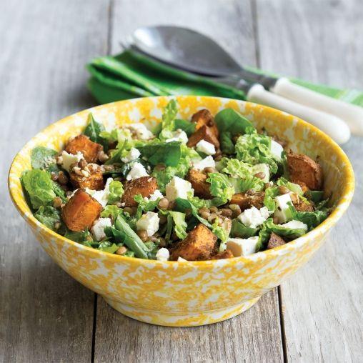 Indian-style spiced kumara salad