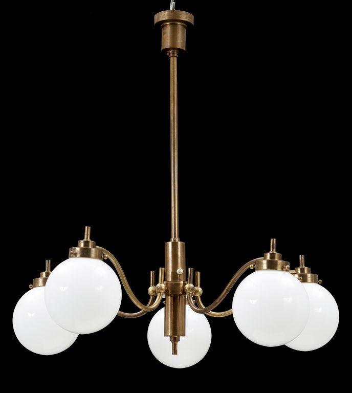 art deco lighting fixture / lamp