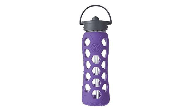 Best Glass Water Bottle: Lifefactory 22-Ounce BPA-Free Glass Water Bottle