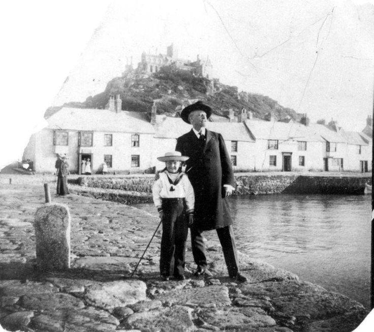 BUFFALO BILL (1904) | St Michael's Mount, Cornwall (pic. Cornwall Record Office) ✫ღ⊰n