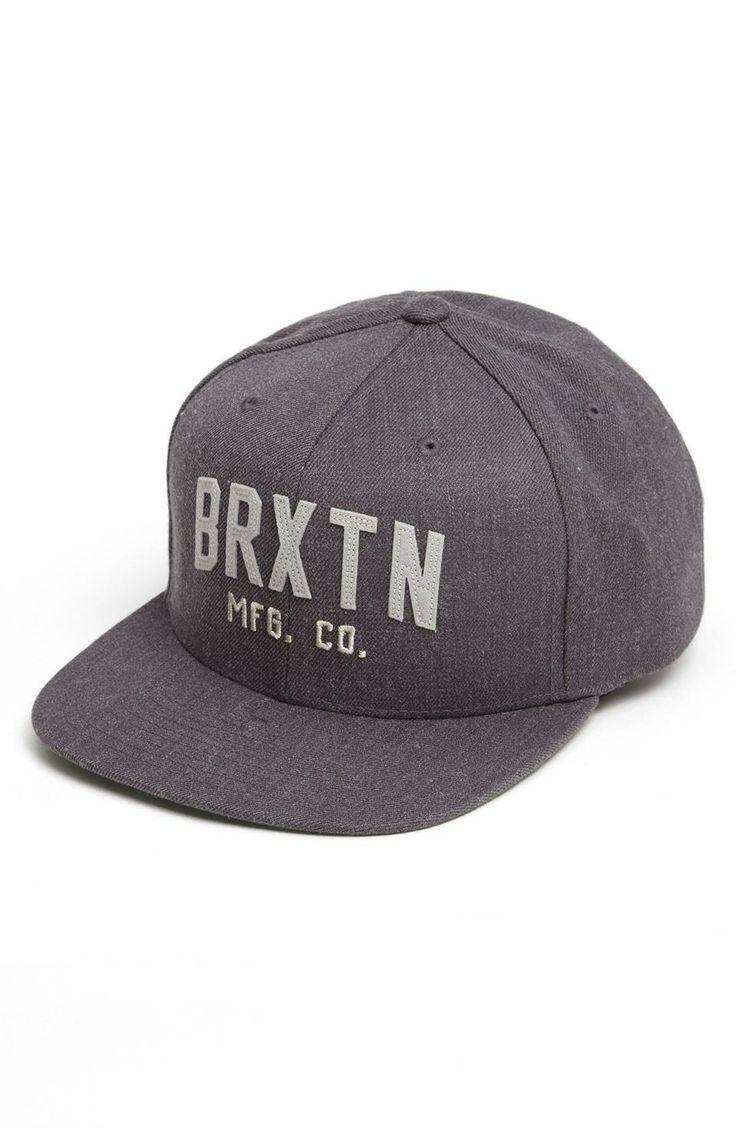 Brixton 'Arden II' Snapback Baseball Cap on Wantering   Gifts for Him   mens baseball cap   mens hat   menswear   mens accessories   grey   mens style   mens fashion   wantering http://www.wantering.com/mens-clothing-item/brixton-arden-ii-snapback-baseball-cap/afHNY/