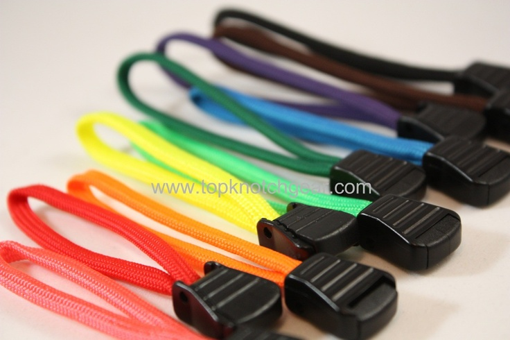 how to make paracord zipper pulls