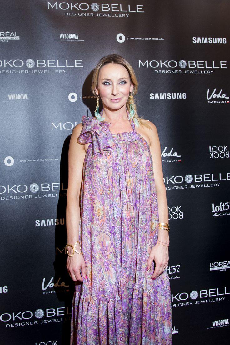 Dorota Williams w biżuterii MOKOBELLE #mokobelle #mokobellejewellery #jewellery #jewelry #bransoletka #lifestyle #bijou #stars
