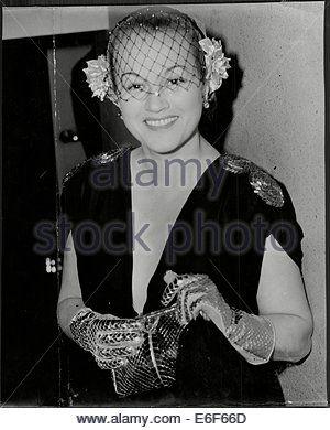 Actress Adina Mandlova At Premiere Of Film - Stock Photo