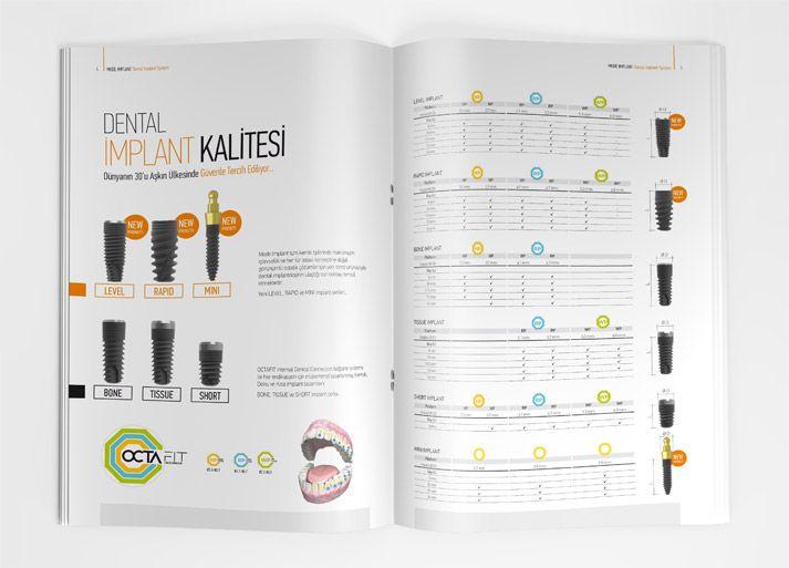 Broşür Tasarımı - Mode İmplant
