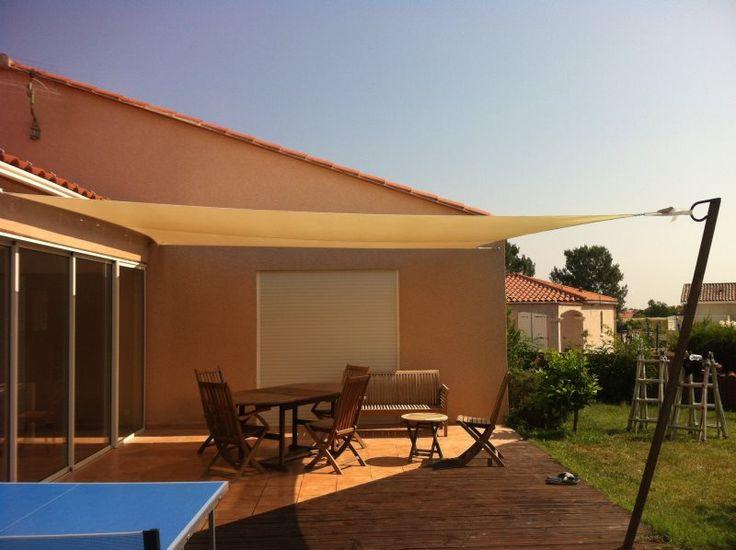 Bâche terrasse mobil home Perpignan